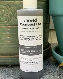 8 ounce Ready-To-Use Brewed Compost Tea